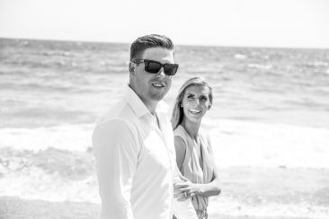 Braydon Russell affordable Santa Barbara wedding photographer, offbeat wedding photos, affordable and amazing wedding photography, black and white, beach photo