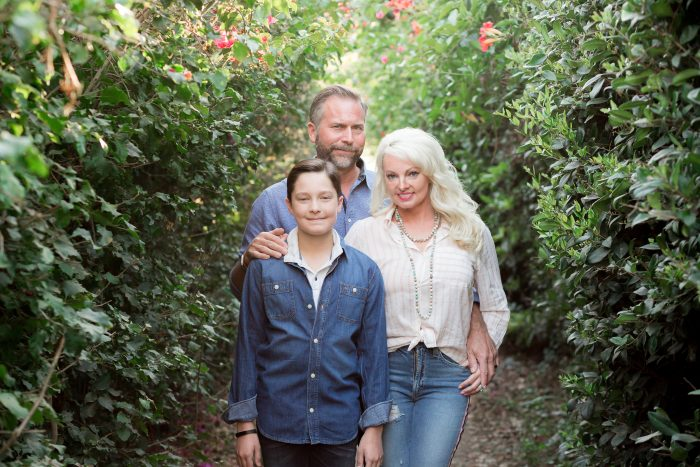 Santa Barbara family photo shoot
