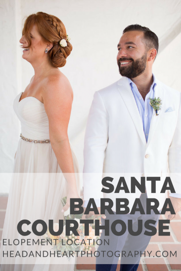 elopement, Santa Barbara Courthouse