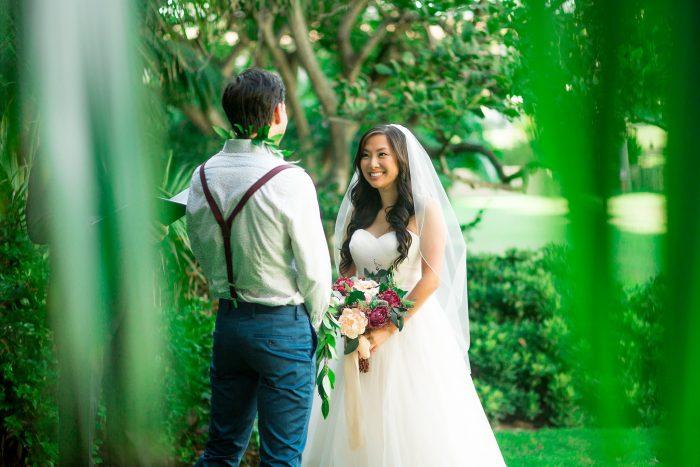 Santa Barbara Courthouse and Alice Keck Memorial Park Santa Barbara wedding and elopement