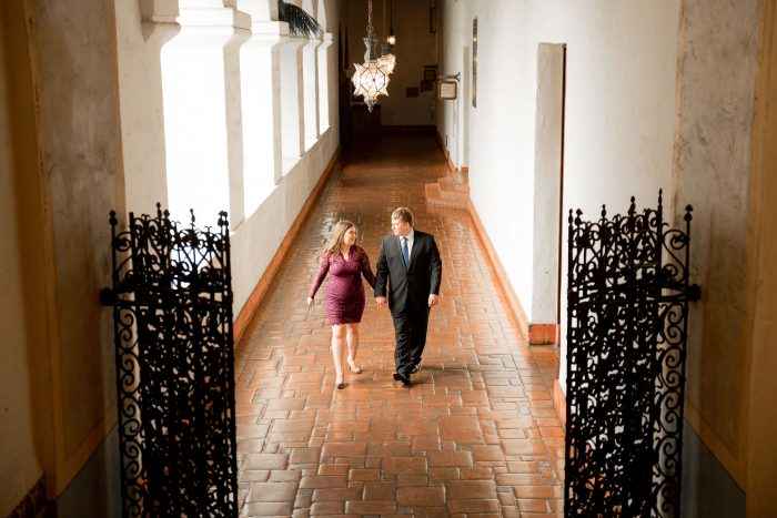 Santa Barbara County Courthouse Engagement Session